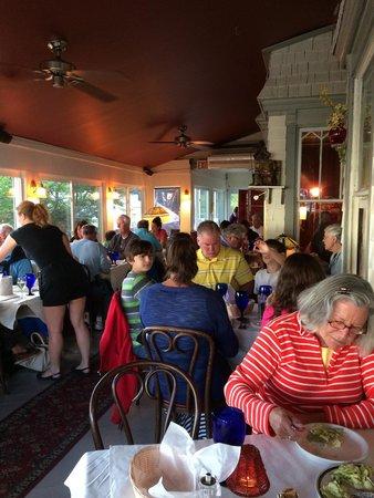 Landmark: Porch dining