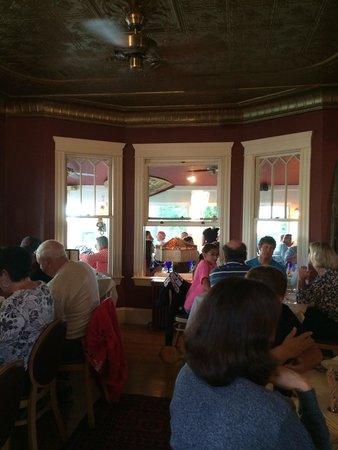 Landmark: Main house dining space. Old sitting room?