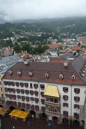 Stadtturm: View from the town tower