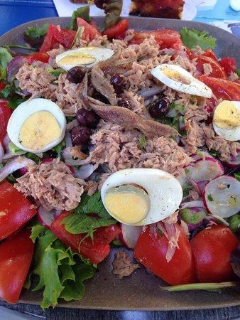 Kiosque TinTin : Salade niçoise