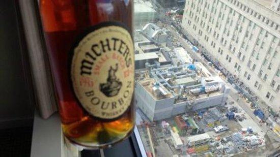 Millenium Hilton : Ground Zero view (and Bourbon!)