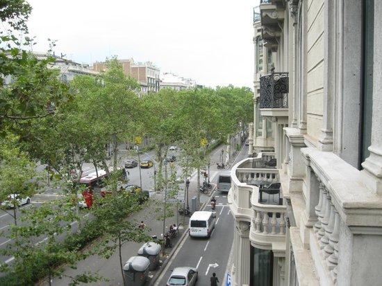 Hotel Granvia : la vue sur la rue