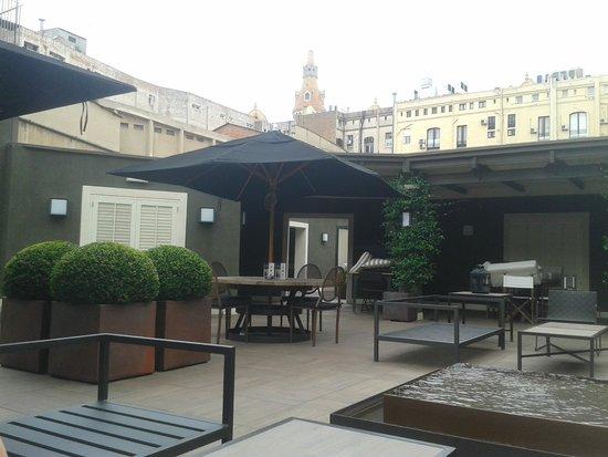 Hotel Granvia : la terrasse