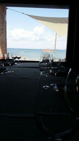 El Parador del Mar Menor : Un cuadro donde las vistas congenian con la gastronomía.