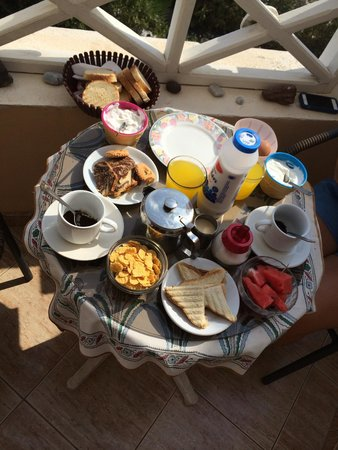 Breakfast to Pension Livadaros