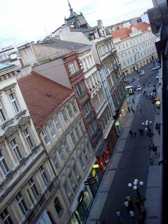 Hotel Liberty: Widok na ulicę