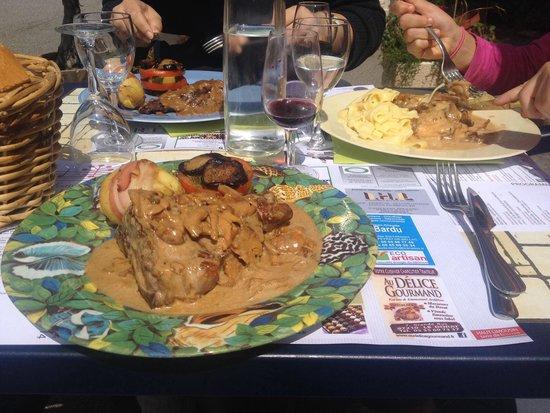 Le Relais des Etangs : Repas du midi