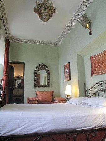 Riad Aguerzame : Inside our room