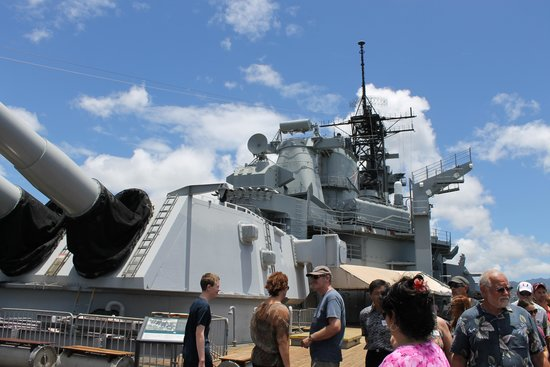 Battleship Missouri Memorial: USS Missouri 5