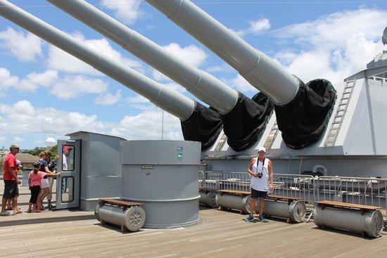 Battleship Missouri Memorial: USS Missouri 6a