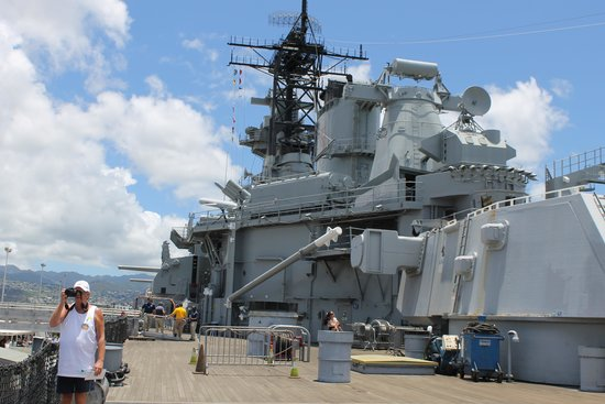 Battleship Missouri Memorial: USS Missouri 7