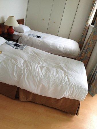 Royal Marine Palace: 海側のベッドルーム