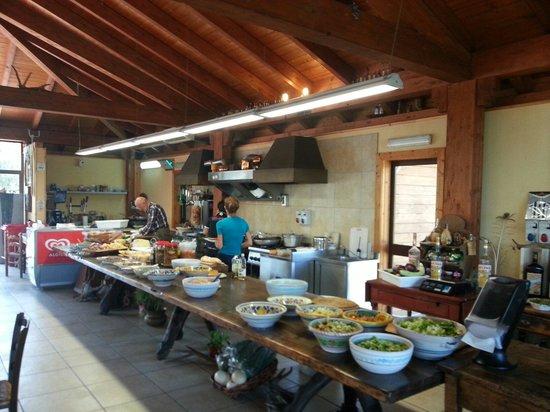 Piedimonte Etneo, อิตาลี: Buffet
