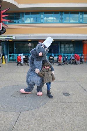 Walt Disney Studios Park: With Rattatoie