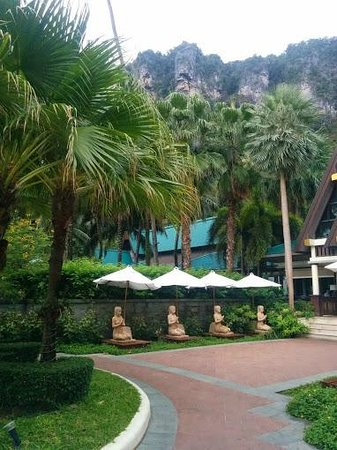 Centara Grand Beach Resort & Villas Krabi: Lobby Entrance