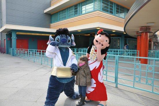 Walt Disney Studios Park: With Lillo & Stich!