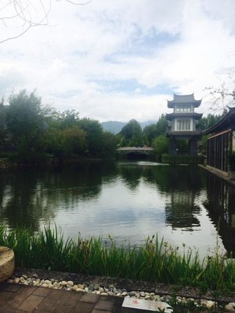 Pullman Lijiang Resort & Spa: View from the western restaurant