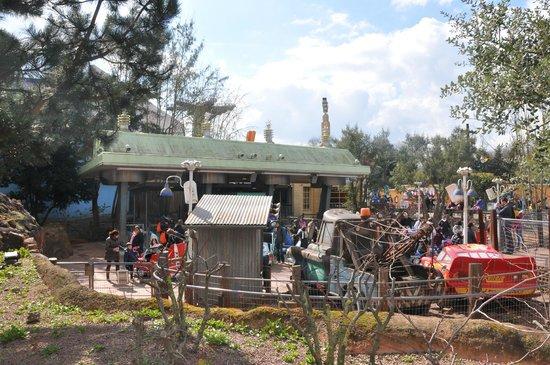 Walt Disney Studios Park: Matter & McQueen!