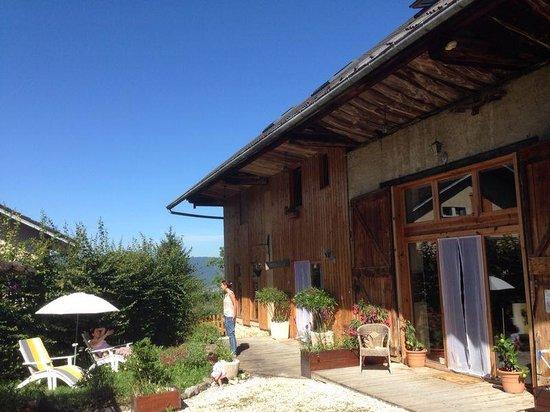 La Vigne Sur Le Foin : jardin