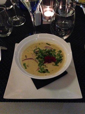 Bakus: coconut soup
