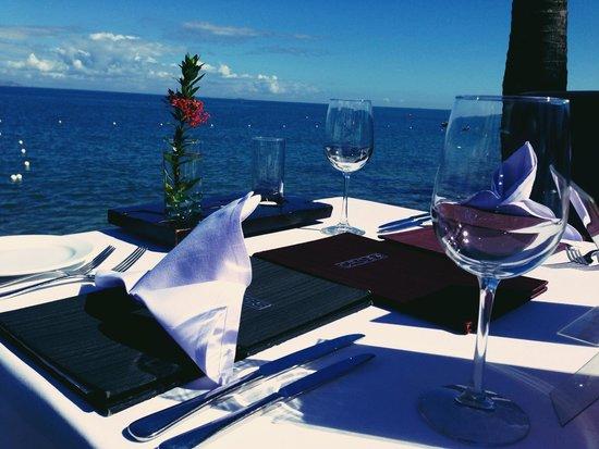 Radisson Blu Resort Fiji Denarau Island: Private dinner