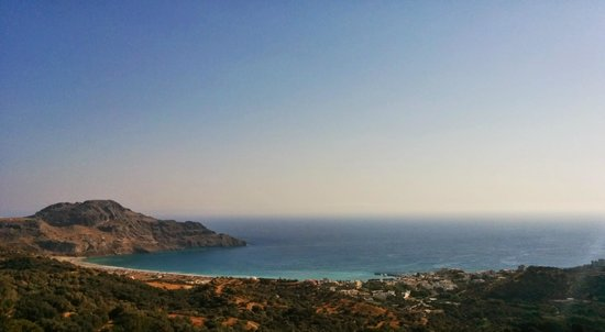 Taverna Panorama: What a view!!