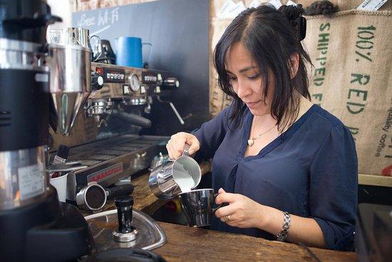Micro Roastery: bella barista
