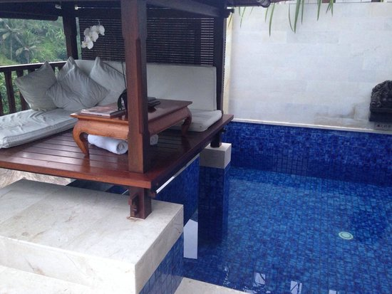 Viceroy Bali: Terrace Villa. The 'Bale', the perfect spot for spending time.