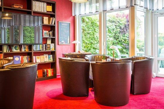 Ankerplatz Hotel: unsere Lounge