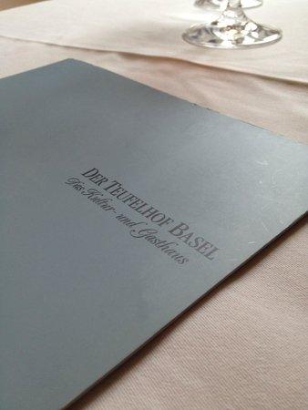Restaurant Bel Etage im Teufelhof: Teufelhof