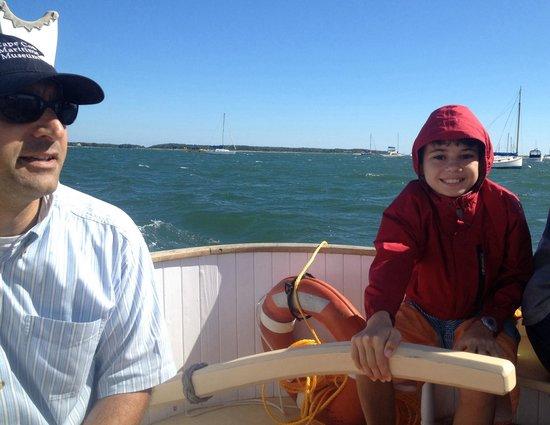 Cape Cod Maritime Museum : Excursion on the catboat Sarah