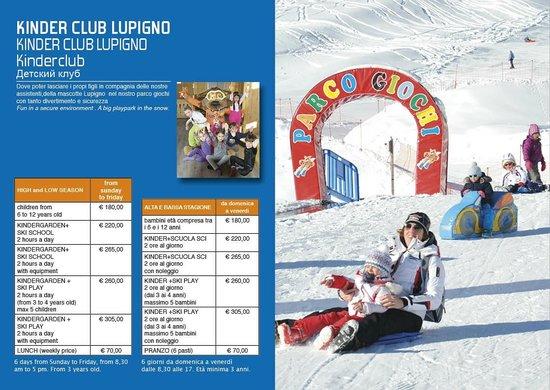 Centrale Scuola Sci e Snowboard: depliant stagione 2014/15
