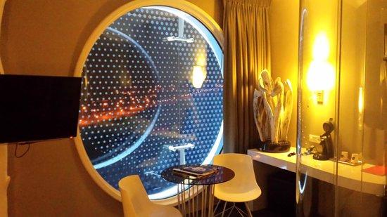 Fletcher Hotel Amsterdam : La fenêtre