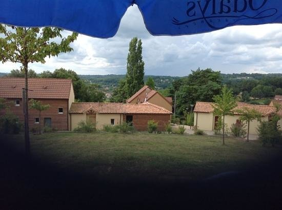 Résidence-Club Odalys Les Côteaux de Sarlat : vue du 608