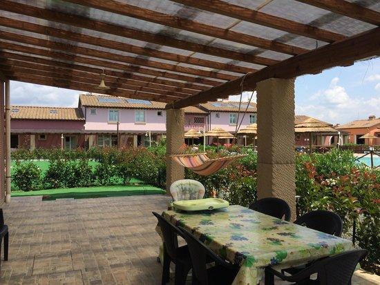 Fattoria Palazzetta: La nostra veranda
