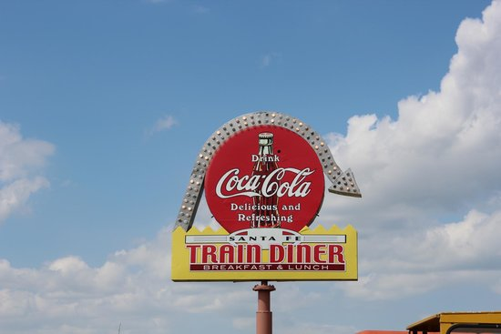 Belvidere, SD: Restaurant sign