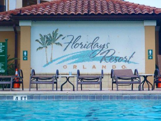 Floridays Resort Orlando: The Sign