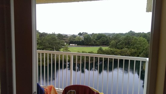 Litchfield Beach & Golf Resort: view fom the balcony