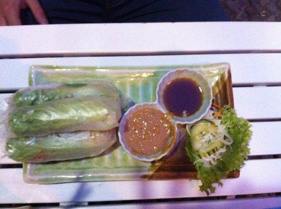 Lemon Leaf: involtini di verdure con pasta di riso
