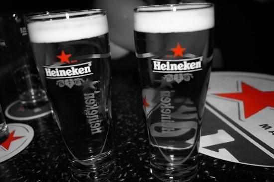 Heineken Experience : free beer at the end
