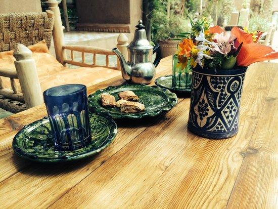 Villa Zagora Ma Villa au Sahara: Tea and snack