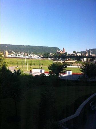 Fairfield Inn & Suites Cumberland: View of downtown Cumberland