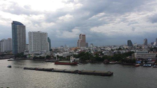 Chatrium Hotel Riverside Bangkok: ベランダからの眺め