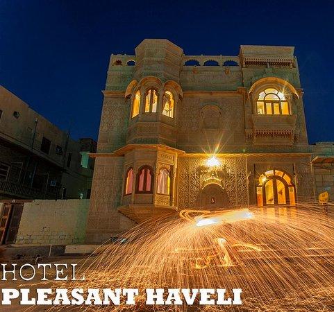 Hotel Pleasant Haveli: Front Of The Pleasant Haveli