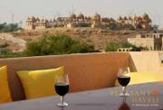 Hotel Pleasant Haveli : View From The Roof Top