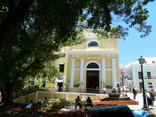 Flavors of San Juan Food and Culture Tours: Historical convent turned into luxury hotel - El Convento!