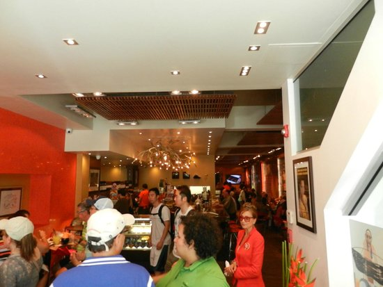 Flavors of San Juan Food and Culture Tours: A historical family-owned chocolate company recently opened a retail restaurant and store in OSJ