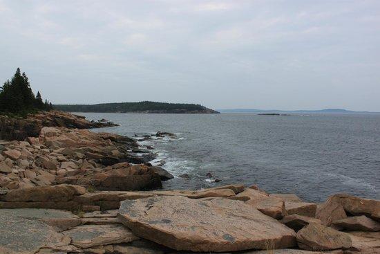 Park Loop Road : View of the eastern coast just off the Park Loop