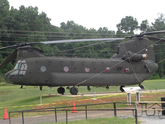 U.S. Space and Rocket Center: Chinook