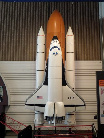 U.S. Space and Rocket Center: Modern mini mockup